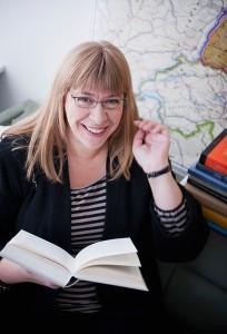 Jenny Larsson, professor i baltiska språk vid Stochholms universitet