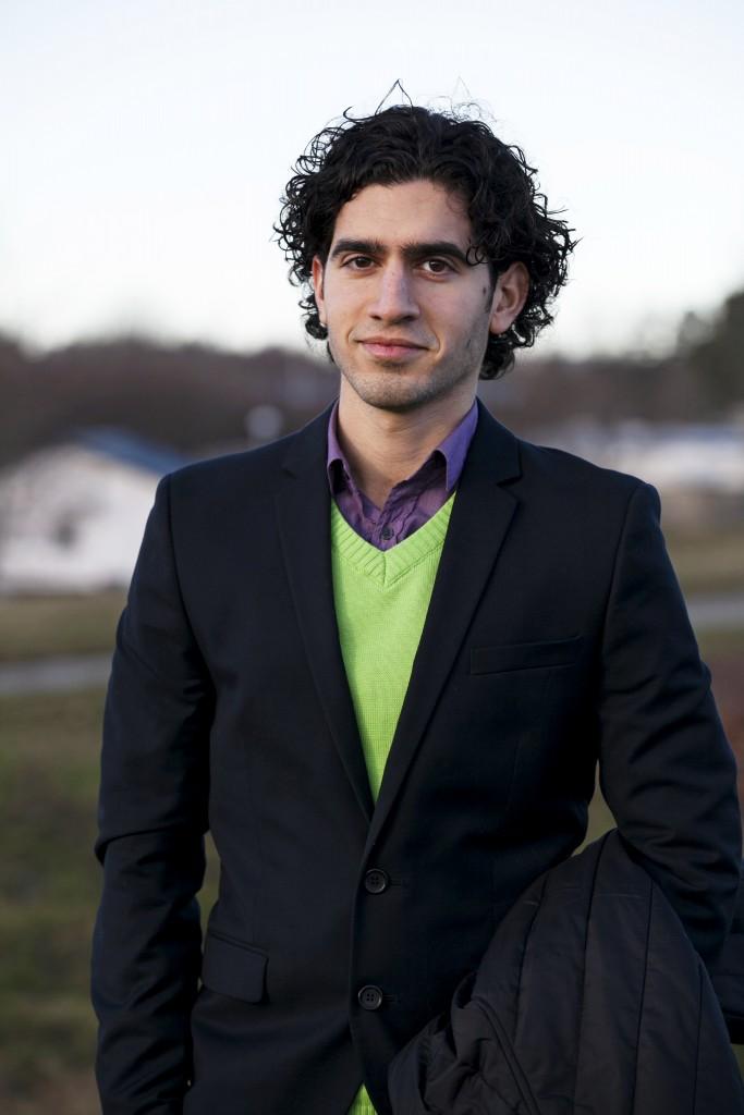 Payam Moula, doktorand i filosofi vid Tekniska högskolan i Stockholm.
