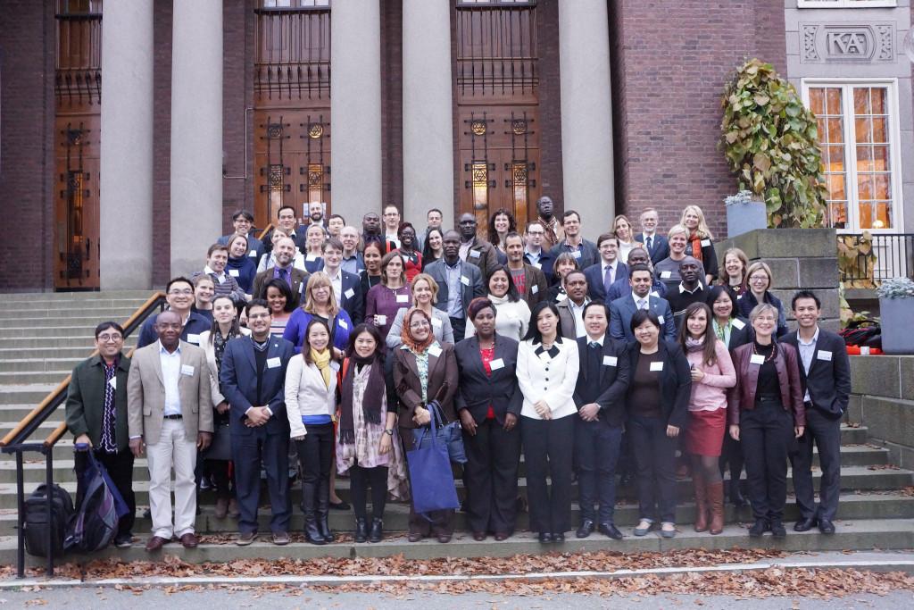 Deltagarna av det andra globala mötet av unga akademier- Foto: Sveriges unga akademi