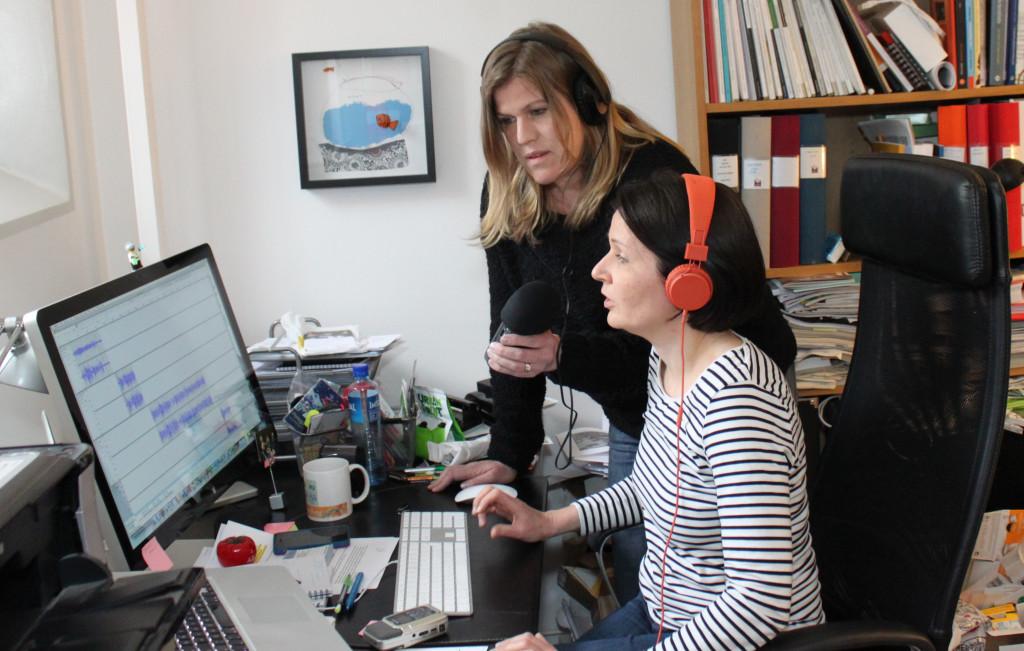 Lisa Beste och Natalie von der Lehr gör RadioScience