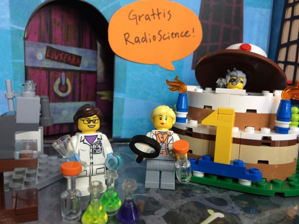 RadioScience fyller 1 år! Grattis! Foto: Natalie von der Lehr