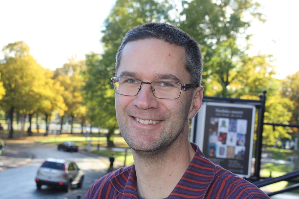 Matti Viking Leino, forskare och intendent vid Nordiska museet. Foto: Lisa Beste