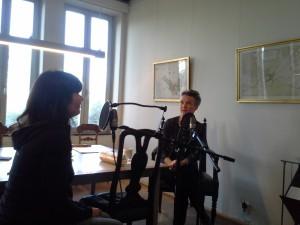 Natalie intervjuar Åsa Nilsonne.