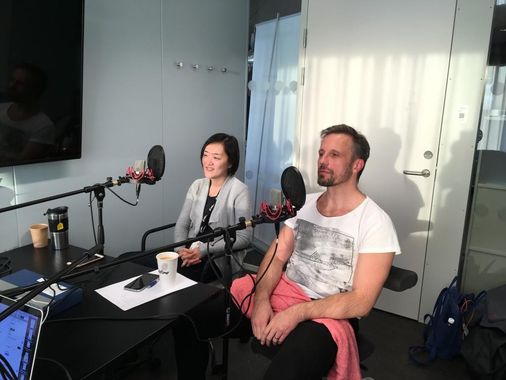 RadioScience har träffat Sayaka Osanami Törngren och Christian Fernandez i Niagarahuset, Malmö universitet. Bild: Natalie von der Lehr