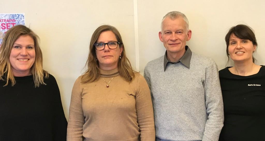 Lisa Beste (RadioScience), Anneli Häyrén (Uppsala universitet), Svend Erik Mathiassen (Högskolan i Gävle) och Natalie von der Lehr (RadioScience). Med i avsnittet via länk var också Susanna Toivanen (Mälardalens högskola).